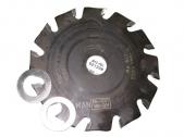 Твердосплавный полукруглый диск шириной 3,3 мм, 1 шт WOLFF