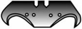 Лезвия Romus с сильно загнутым крючком, 0,65 мм, 10 шт.