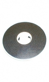 Диск, с резиновой накладкой, 410 мм (для металлических  кругов,