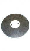 Диск, с резиновой накладкой, 406 мм (для металлических  кругов,