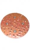 Металлическое шлифовальное ТС сегмент, K 10, 127 mm, комплект =