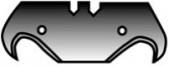 Крючкообразные лезвия Romus, 0,65 мм,  10 шт.