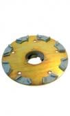 Шлифовальный диск с 8 алмазными сегментами, укомплектосанное, K