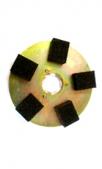 Диск с 5 абразивными камнями, 406 мм