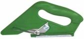 Резак для текстильных покрытий, зеленый