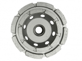 Двухрядная шлифовальная тарелка ST-2C Abrasive D125х22.2